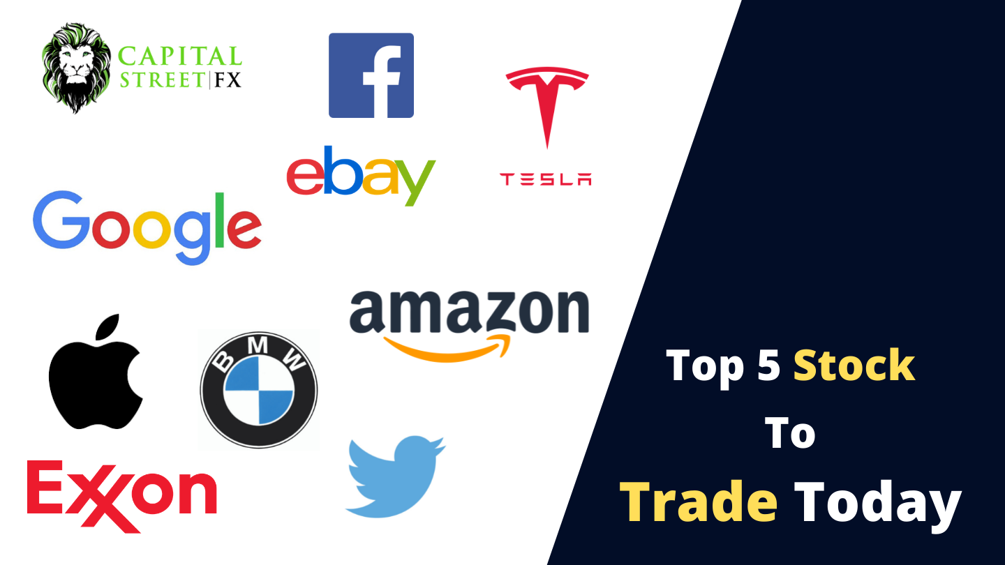Top 5 Stock To trade Today